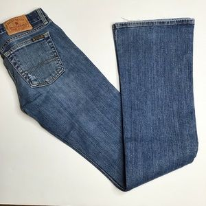 Lucky low-rise boot cut jeans